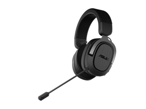 ASUS TUF GAMING H3 WIRELESS Gaming Headset features 2.4 GHz connection via a USB-C dongle,7.1 surround sound, deep bass and a lightweight design,Compatible with PCs, PlayStation® 5, Nintendo Switch™