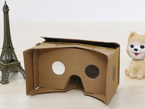 "DIY Google Cardboard Virtual Reality VR Mobile Phone 3D Viewing Glasses for 5.0"" Screen"