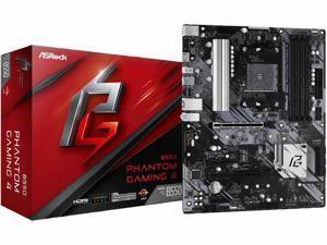 ASRock B550 Phantom Gaming 4 AM4 AMD B550 SATA 6Gb/s ATX AMD Motherboard