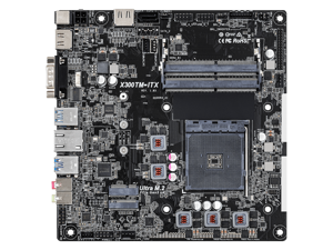 ASRock X300TM-ITX AM4 AMD Promontory X300 SATA 6Gb/s Mini iTX AMD Motherboar - OEM