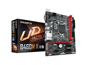 GIGABYTE B460M H Motherboard with GIGABYTE 8118 Gaming LAN, PCIe Gen3 x4 M.2, Anti-Sulfur Resistor, Smart Fan 5