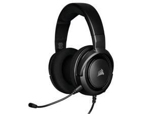 CORSAIR HS35-Stereo Gaming Headset-Memory Foam Earmuffs-Headset for PC, Mac, Xbox One