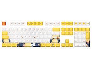 Corn 108 keys PBT Dye Sublimation Keycap Set OEM Profile Keycaps for Mechanical Keyboard-Only Keycaps (MID-AUTUMN FESTIVAL THEME)