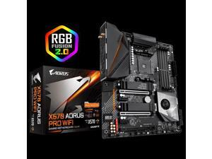 GIGABYTE X570 AORUS PRO WIFI AMD Ryzen 3000 PCIe 4.0 SATA 6Gb/s USB 3.2 AMD X570 ATX Motherboard