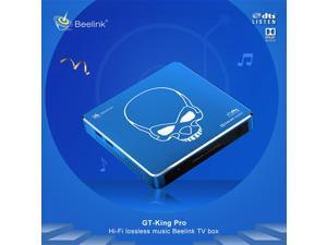 Beelink GT-King Pro S922X-H Android 9.0/COREELEC System 4G/64G HD Audio and Video Box, 2.4G/5.8G Dual-Band WIFI6, Bluetooth 5.0,  HDMI 2.1 4K@60fps, Support DTS Listen and Dolby Sound