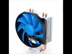 DeepCool GAMMA WAVE V2 CPU Cooler PWM 120mm Ultra Silent Fan Dual Direct Contact Heatpipes Heatsink - Blue