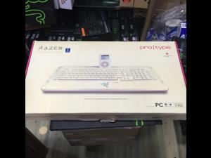 RAZER Tarantula White USB Ultimate Gaming Keyboard - Protype