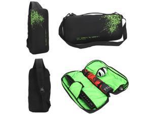 Corn Electronics Gaming Backpack Keyboard Mouse Headset Case Bag Sleeve Razer Gamer