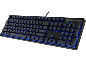 Steelseries Apex M500 Mechanical Gaming Keyboard with Cherry MX Red Switches and Blue LED