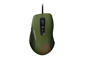 ROCCAT Kone Pure Military ROC-11-711 7 Buttons 1 x Wheel USB Wired Optical 5000 dpi Core Performance Gaming Mouse - Camo Charge