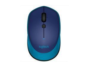 Logitech M336 Bluetooth Bluetooth Wireless Laser-grade optical 1000 dpi Mouse - Blue