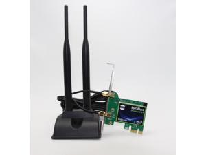 Corn SSU WIE7260 Wireless-AC1167 Bluetoth 4.0 PCI Express Network Adapter IEEE 802.11ac, IEEE 802.11a/b/g/n Up to 300 and 867Mbps Wireless Data Rates
