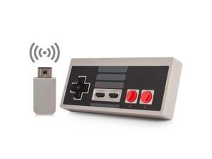Corn Wireless NES Mini Classic Controller,NES Wireless Gamepad For Nintendo Mini NES Classic Edition, Wireless Joypad & Gamepads Controller for Nintendo NES Mini Classic Edition Game System