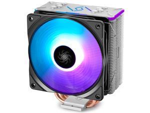 DEEPCOOL GAMMAXX 400 GT CPU Cooler 4 Heatpipes 120mm RGB LED PWM Fan ASUS AURA SYNC AM4 Support
