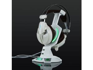 CORN  Desktop switch,Light hook Double USB and headset holder and Audio sockets