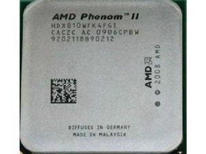 AMD Phenom II X4 810 2.6GHz Quad-Core (HDX810WFK4FGI) Processor Socket AM3 desktop CPU