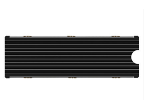 M.2 NVMe Heatsink for SM951 SM961 950PRO XP9410 M.2 SSD Cooling Heatsink - Black, Support Playstaion 5 Cooling