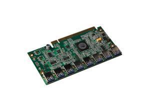 CORN 1 To 8 PCIe Miner Machine Graphics Card Extension Cord PCI-E 16X Turn 8 Port USB3.0 PCIE Expansion Cards Riser Card BTC LTC ETH