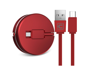 CORN 1m Micro USB Cable for Redmi 4X Retractable Fast Data Sync and Charging Cable Micro USB to USB 2.0 CE certification