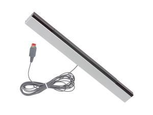 CORN Wired Infrared IR Signal Ray Sensor Bar Receiver Motion Sensor Game Move Remote Bar Inductor Receiver for Nintendo Wii or Wii U