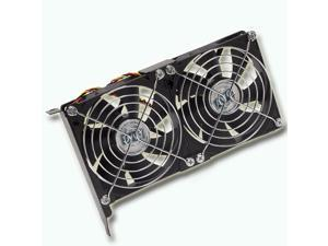 AVC VGA Cooling Mate Dual/Triple 90mm Fans PCI Slot Set Universal Compatibility