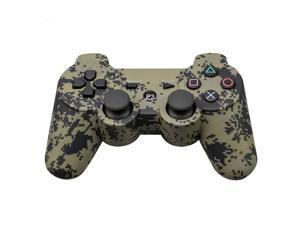 CORN Bluetooth Wireless Controller for Playstation 3 Dual Virbration Game Joystick PS3 PS3 Slim - Camouflauge