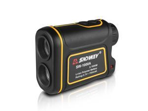 SNDWAY Digital 7X Laser Distance Meter 1000M Telescope Laser Rangefinder for Hunting Golf Laser Range Finder