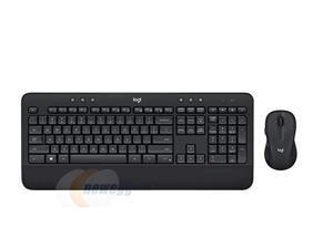 Logitech MK545 Advanced Wireless Keyboard and Mouse Combo-Black