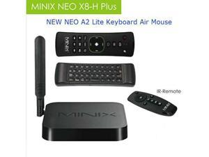 MINIX NEO X8-H Plus S812 Quad Core 2GB/16GB Android 4K TV Media Box + NEWEST NEO A2 Lite Keyboard Air Mouse - SHIP FROM USA! in stock now!