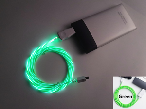 CORN 3Ft Glow in the Dark Light up LED Lightning Charging Cable for iPhone 8 8 plus 7 7 Plus 6 6 Plus iPhone LED cable iPhone 8 led charging cable led iPhone cable iPhone 8 led cable