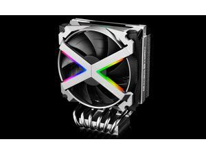 DeepCool Fryzen CPU Cooling, inverse double-bladed fans, built-in 16.7M true color Addressable RGB lighting, For TR4/AM4 and mainstream AMD