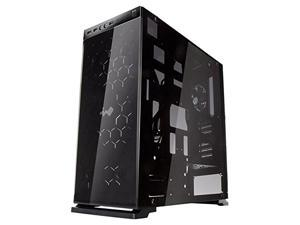 IN WIN 805 RED Red Aluminum / Tempered Glass ATX Mid Tower Computer Case Compatible with ATX 12V/ EPS up to 220mm Power Supply Power Supply
