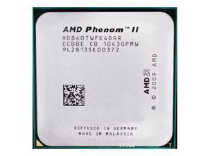 AMD Phenom II X4 840T 2.9GHz 95W Quad-Core Processor HD840TWFK4DGR Socket AM3 desktop CPU