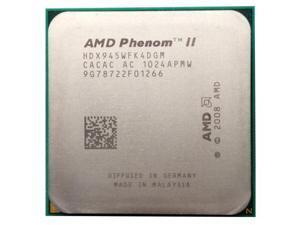 AMD Phenom II X4 945 3.0GHz 4x512 KB L2 Cache Socket AM3 95W Quad-Core Processor  desktop CPU