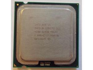 Intel Core 2 Duo E4300 1.8GHz 2MB Processor LGA775 desktop CPU  SL9TB SLA5G SLA99