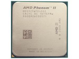 AMD Phenom II X4 925 2.8GHz Quad-Core Processor 95W Socket AM3 desktop CPU
