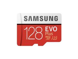 Samsung 128GB EVO Plus Class 10 UHS-I microSDXC U3 with Adapter (MB-MC128GA/EU) Read: up to 100MB/s, Write: up to 90MB/s