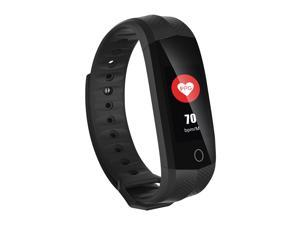 YuanGuo YG3 Plus Activity Tracker Fitness wristband with heart rate & sleep monitor-Black