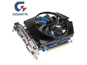 GIGABYTE video card GTX 650Ti 1GB 128Bit GDDR5 graphics cards nVIDIA Geforce GTX 650 Ti Hdmi Dvi VGA cards GV-N65TOC-1GI