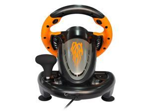 CORN New Version Racing (Support Switch) Wheel Apex for PC Game Joystick Simulator Professional for Windows/PS3/PS4/Xbox One/ Switch Gaming Controller - Orange/Yellow