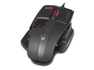 Tt eSPORTS Level 10 M Advanced Ergonomic Laser Gaming Mouse with 3-Zone RGB Illumination, 6 Programmable Buttons, 16000 DPI Sensor, Omron Switch, Graphical Configuration Interface