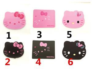 CORN Hello Kitty Cartoon Mouse Pad, Little Gift for Pink Lover-Marked No. 2 in the Item Picture