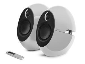 Edifier USA e25HD Luna Eclipse HD 2.0 Bluetooth Speakers with Digital Optical Input (White)