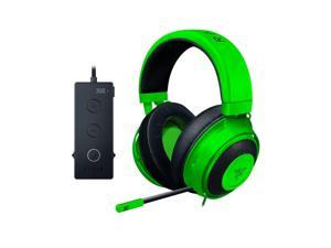 Razer Kraken Tournament Edition: THX Spatial Audio - Full Audio Control - Cooling Gel-Infused Ear Cushions - Gaming Headset Works with PC, PS4, Xbox One, Switch, Mobile Devices - Green