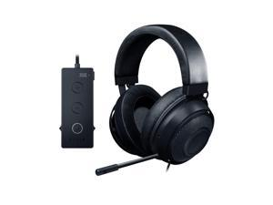 Razer Kraken Tournament Edition: THX Spatial Audio - Full Audio Control - Cooling Gel-Infused Ear Cushions - Gaming Headset Works with PC, PS4, Xbox One, Switch, & Mobile Devices - Black