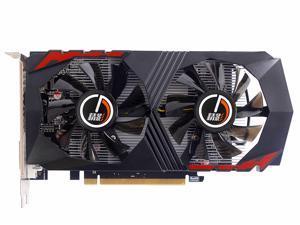 AMD RX460 128-Bit 4GB GDDR5 Graphic Card DirectX12 Video Card GPU PCI Express 3.0 DP/DVI-D/HDMI, Play for LOL, DOTA, COD, War Thunder, Apex, etc