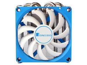 JONSBO HP-400, 9cm Fan and 4 Heatpipes CPU Cooler for Intel LGA115X/775,AMD AM3/AM3+/AM2/AM2+/FM1/FM2