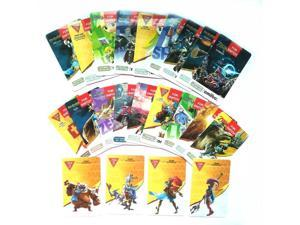 New Young Link Include! 23PCS ZELDA AMIIBO MINI NFC TAG Cards BOTW SSB Wolf Link 20 Hearts Fierce Deity for NS Switch WII U,  4 Champion Card