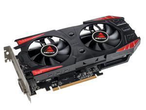 Biostar AMD RX560D 128-Bit 4GB GDDR5 Graphic Card with dual fans DirectX12 Video Card GPU PCI Express 3.0 DP/DVI-D/HDMI,Play for LOL,DOTA,CSGO,Apex etc,better than RX560