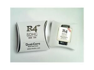 New R4I SDHC Dual Core Flash Card Adapter for DS DSI 2DS 3DS New3DS & All DS Consoles - White